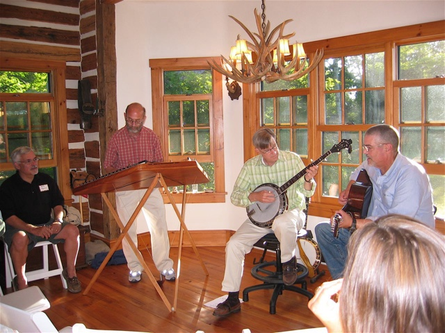 Phil Passen performing with friends